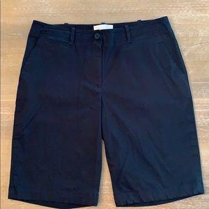 Women's Talbots Black Shorts, Size 8